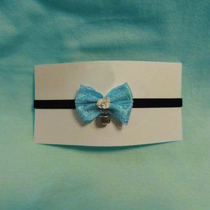 SERENA ~ Cute Bow Choker with Bell